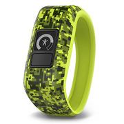 佳明 vívofit jr. 儿童智能手表运动手环 亲子互动 目标培养 健康活动追踪 迷彩绿