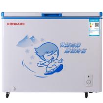 康佳 BD/BC-218DTH 218升 家用商用冰柜 冷藏冷冻转换柜 冷柜 节能单温卧式冰箱产品图片主图