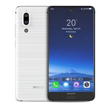 夏普 AQUOS S2 全面屏手机 全网通 4GB+64GB 釉理白 移动联通电信4G手机 双卡双待产品图片主图