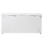 海信 519升 大容积商家专用冷柜 卧式冰柜 冰箱 46公斤超大冷冻力 珍珠白 BD/BC-519N/AHP