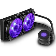 酷冷 冰神240RGB CPU水冷散热器(支持I9 2066、AM4/双腔水泵/微流道设计/均衡型风扇)