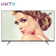 KKTV U40 40英寸4K超高清31核HDR 人工智能语音液晶平板电视机(黑色+银色)
