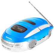 纽曼 DVD-M600 DVD学习机 CD机 胎教复读机USB插卡mp3音响 音箱 手提便携卡带磁带收录机(蓝色)