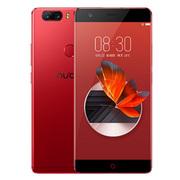 努比亚 Z17 无边框 烈焰红 6GB+64GB 全网通 移动联通电信4G手机 双卡双待