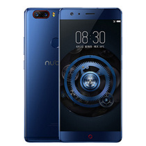努比亚 Z17 无边框 极光蓝 8GB+128GB 全网通 移动联通电信4G手机 双卡双待产品图片主图