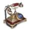 渴望(crave) F015仿古电话机 复古固定座机 创意时尚  欧式风格 凯撒产品图片4