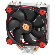 Thermaltake Riing S100 CPU散热器 (支持AM4/3热管/Riing 12cm红光风扇/ 带硅脂/静音液压轴承)