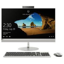 联想 AIO 520 致美一体机27英寸QHD屏(I5-7400T 8G 1T+128SSD GF940MX 2G 显卡)银产品图片主图