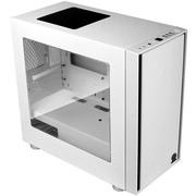 Thermaltake 启航者F1 白色 Mini机箱(支持MATX主板/独立电源仓/支持背线/侧透/钢板0.6mm/U3)