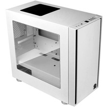 Thermaltake 启航者F1 白色 Mini机箱(支持MATX主板/独立电源仓/支持背线/侧透/钢板0.6mm/U3)产品图片主图