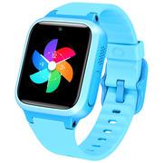 小寻 小米生态链产品 儿童电话手表S1 儿童手表 防丢防水GPS定位 学生定位手机 儿童手机 天蓝色
