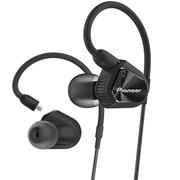 先锋 CLV20 HiFi双动圈线控耳机入耳式 手机耳麦 低频版 黑色