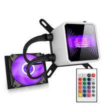 爱国者 冰魄T120RGB版 一体式水冷 CPU散热器(PWM智能温控风扇/全平台支持/静音陶瓷轴承/附硅脂)产品图片主图