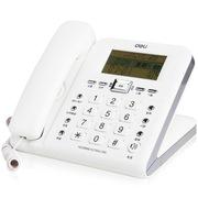 得力  790 来电显示办公家用电话机/固定电话/座机 创意时尚大屏幕
