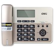 得力  796 典雅老板经理横式来电显示电话机/固定电话/座机 液晶显示