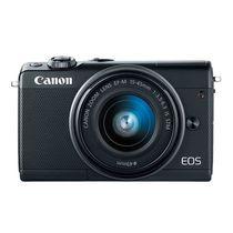 佳能 EOS M100(15-45 IS STM/55-200 IS STM双镜头) 黑色产品图片主图