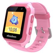 阿巴町 V118 儿童电话手表 拍照定位防水4G视频通话手表手机小胖
