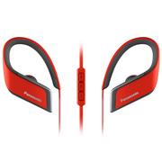 松下 RP-BTS30 红色 蓝牙无线运动耳机 支持线控 音质佳 防水防汗耳机