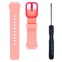 小寻 儿童电话手表S1 表带 食品级硅胶 粉色产品图片主图