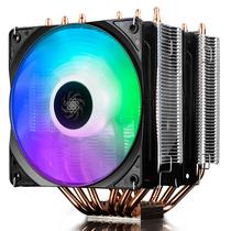 九州风神 大霜塔RGB CPU散热器 (17种RGB灯效/6热管/双RGB风扇/附带硅脂/线控)产品图片主图