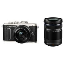 奥林巴斯 E-PL8 14-42mm EZ+40-150mm R 黑色 微单电双镜头套机 机身防抖 美颜自拍 PL7升级版产品图片主图