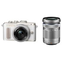 奥林巴斯 E-PL8 14-42mm EZ+40-150mm R 白色 微单电双镜头套机 机身防抖 美颜自拍 PL7升级版产品图片主图