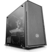 酷冷至尊 小清风简约版 黑色 迷你机箱(支持M-ATX主板/USB3.0/背走线/电源下置/亚克力侧透)