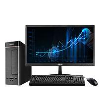 华硕 灵睿K20台式电脑23英寸(i3-6098P 4GB内存 500GB  集显 10L小机箱 )产品图片主图