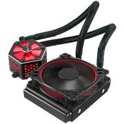 乔思伯 TW-120 CPU水冷散热器 (铝合金冷头罩、RGB灯光同步/支持AURA RGB/12CM温控风扇/多平台)
