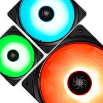九州风神 魔环120 RGB 三联包电脑机箱风扇(12CM/RGB LED灯珠/水冷排散热/支持RGB SYNC主板)产品图片主图