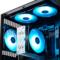 九州风神 魔环120 RGB 三联包电脑机箱风扇(12CM/RGB LED灯珠/水冷排散热/支持RGB SYNC主板)产品图片3