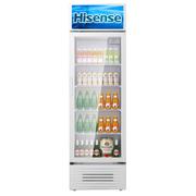 海信 279升 单门大容积商用立式展示柜 陈列柜 饮料柜 冷柜 冰柜 玻璃门冰箱 (珍珠白)SC-279LA
