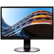 飞利浦 23.8英寸 IPS-ADS屏广视角 锐丽色彩 旋转升降底座 商务办公液晶显示器241P6EPJEB