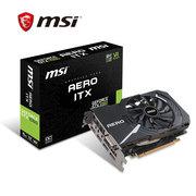 微星 GTX 1060 AERO ITX 6G OC 192BIT 6GB GDDR5 PCI-E 3.0 显卡