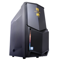 神舟 战神K5-P66 D1S 台式游戏电脑主机(B250 i5-7400 8GDDR4 128GSSD+1TB GTX1060 6G独显 win10)产品图片主图