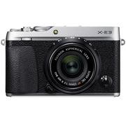 富士 X-E3 XF23 F2 微单电套机 银色 2430万像素 触摸屏 4K视频 蓝牙4.0