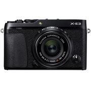 富士 X-E3 XF23 F2 微单电套机 黑色 2430万像素 触摸屏 4K视频 蓝牙4.0