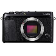 富士 X-E3 机身 黑色 2430万像素 触摸屏 4K视频 蓝牙4.0