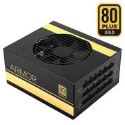 先马 ARMOR 550W 全模组电脑电源 额定功率550W/80PLUS金牌/主动式PFC/全日系电容/支持背线/宽幅电压