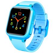 小寻 儿童电话手表 防丢生活防水GPS定位 学生定位手机 智能手表 儿童手机 蓝色S1+蓝色表带