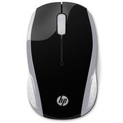 惠普 200 无线鼠标 便携家用/笔记本电脑办公/鼠标 银色