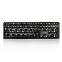 黑爵 朋克合金机械键盘 咖啡棕 黑轴白光产品图片主图