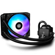 九州风神 船长120RGB CPU水冷散热器(17种RGB模式/可与主板SYNC灯效同步/多平台/预涂硅脂)
