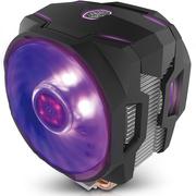酷冷 T610P CPU风冷散热器(支持I9 2066、AM4/6热管/12CM双风扇/同步4大板商RGB灯效)