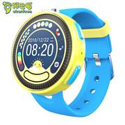 阿巴町 T1601 儿童电话手表 彩屏拍照定位防水智能手表手机男女孩泡泡