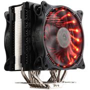 超频三 东海争霸 CPU散热器 (6热管/多平台/智能RGB双风扇/镀镍散热鳍片/12cm静音/7种颜色)