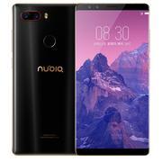 努比亚 Z17S 全面屏 黑金 6GB+64GB 全网通 移动联通电信4G手机 双卡双待