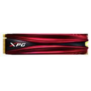 威刚 XPG GAMMIX系列 S10 256GB PCIe Gen3x4 NVMe M.2 2280 带散热片的固态硬盘