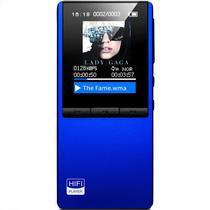 月光宝盒 F108 MP3 MP4  金属蓝色 外放蓝牙HIFI无损播放器 双孔耳机 学生可用产品图片主图