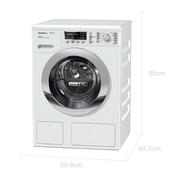 美诺 WTH120 C WPM 德国进口7公斤洗烘一体滚筒洗衣机 22种洗+烘程序PowerWash2.0 洗涤液自动配给